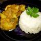 Colombo de poulet & riz