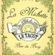 La Michette, 7°, bière maison, blonde