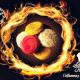 macaron framboise bissap
