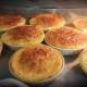 Clafoutis aux pommes, Gâteau moelleux avec chocolat fondu maison