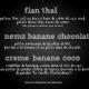 Soupe de banane et coco